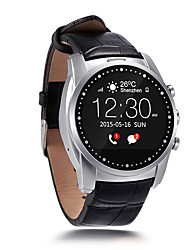 abordables -Montre bluetooth intelligente avec gsm Watch Phone Call Waterproof Health Tracker Camera uniquement pour smartphone Android