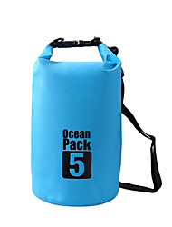 cheap -5L Waterproof Dry Bag Lightweight, Floating, Waterproof for Surfing / Diving / Swimming