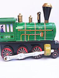 Недорогие -Игрушечные машинки Игрушка с заводом Поезд Игрушки Шлейф Железо Металл 1 Куски Детские Подарок