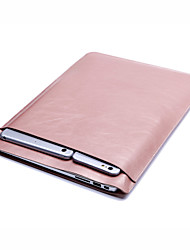 PU Leather Ultra-Thin Protection Double Pocket Sleeves for Touch Bar New MacBook Pro 13.3 Macbook Pro with Retina 12/13.3 MacBook Air 11.6/13.3