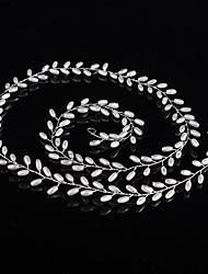 Недорогие -Искусственный жемчуг ободки Инструмент для волос Головная цепь 1 Свадьба Особые случаи на открытом воздухе Заставка