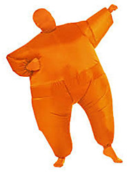 Adult Chub Suit Inflatable Suits Blow Up Orange Color Full Body Christmas Party Cosplay Costume Jumpsuit For Adult