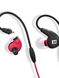 Cuffie sportive auricolari professionali mee-audio m7p ipx5 zona sudore impermeabile con controllo a filo