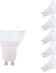 cheap -3W GU10 LED Spotlight MR16 1 COB 250 lm Warm White 3000 K AC 100-240 V
