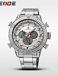 WEIDE Муж. Спортивные часы Модные часы Наручные часы электронные часы Кварцевый Цифровой Будильник Календарь Защита от влаги С двумя