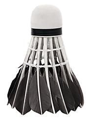 abordables -Volants à Plumes 12pcs Plume d'oie Antiusure / Stabilité / Durable Badminton