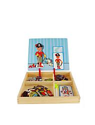 abordables -Puzzle Puzles de Madera Puzles y juguetes de lógica Juguetes Cuadrado Manualidades Papel Niños 1 Piezas