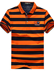 Homme Tee-shirt de Randonnée Séchage rapide Respirable Tee-shirt Hauts/Top pour Pêche Eté M L XL XXL XXXL