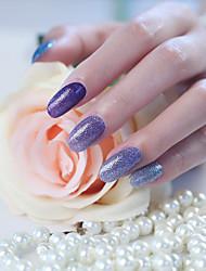 abordables -1 pc nail art nails tous posté 14 autocollants scintillement le gradient une série de