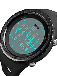 SKMEI 1246 Men's Woman Watch Double Significant Outdoor Sports Watch Mountain Climbing Waterproof Electronic Watch Male LCD Students Multi - Function
