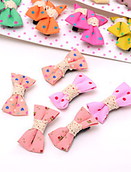 cheap -South Korean Baby's Bow and BB Clip With a Child's Clip of the Girl's Top 10 Pairs