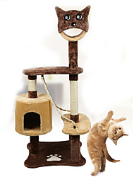 Cat Toy Pet Toys Interactive Tubes & Tunnel Scratch Pad Durable Wood Plush For Pets