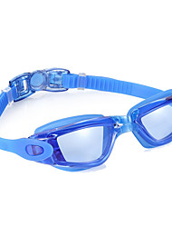 cheap -Swimming Goggles Anti-Fog Waterproof Adjustable Size Silica Gel PC Black Blue Light Gray Light Blue