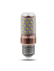 cheap -5W 850lm E26 / E27 LED Corn Lights T 70 LED Beads SMD 2835 Warm White White 85-265V