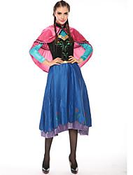 abordables -Princesse Conte de Fée Elsa Costume de Cosplay Costume de Soirée Femme Halloween Carnaval Fête / Célébration Déguisement d'Halloween