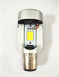 Недорогие -H4 cob 20w мотоцикл фары cob прожекторы электрический автомобиль встроенные двойные когти