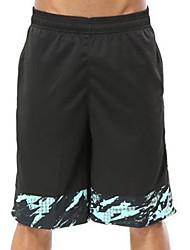 baratos -Homens Shorts de Corrida - Roxo, Vermelho, Verde Esportes Fitness, Ginásio, Exercite-se Roupas Esportivas