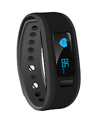SR07 Sport Bracelet with Detachable Sleep Monitor Smart Alarm Clock Remote Capture Photo Intelligent Data Synchronization Time Steps Distance Calorie