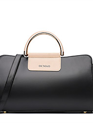 Women Bags All Seasons Other Leather Type Shoulder Bag for Casual Black