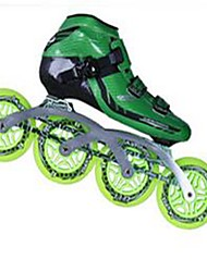 Unisex Inline Skates Wearable Green/Black/Red