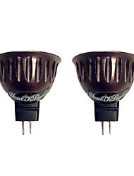 3W GU5.3(MR16) LED-spotlys 1 leds COB Varm hvid 250lm 3000