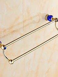 Towel Bar Antique Brass 61CM Towel Bar Wall Mounted