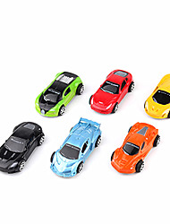 cheap -Toy Cars Pull Back Vehicles Construction Vehicle Race Car Toys Toys Plastic 12 Pieces Unisex Gift