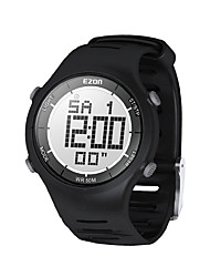 Mens Fashion Casual Digital Watches 30M Waterproof Digital Dual Time Stopwatch Outdoor Sport Wristwatch EZON L008
