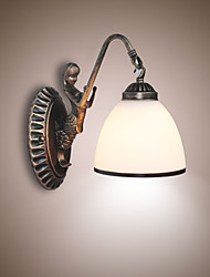 cheap -European Style Retro Living Room Bedroom Lamp Porch Wall Lamp Balcony Coffee Shop Wall Lamp