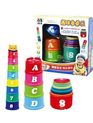 baratos -Blocos Lógicos / Brinquedo Educativo 1pcs copo Equilíbrio Clássico Dom
