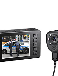 VD-5000II502 Night Vision Bodyworn Police Video Recorder 1080P HD Wide Angle Video Camera with DVR