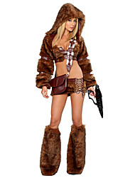 Animal Cosplay Costumes Female Halloween Festival/Holiday Halloween Costumes Brown Others