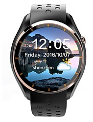 LEMFO Men's Woman Android SmartWatch IQI I3 support 3G WiFi GPS Heart Rate Monitor With 1.39 inch AMOLED Display 512MB RAM 4GB ROM Clock Phone