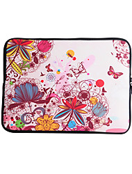 cheap -For MacBook Air / Pro / Retina 13 inch Universal Laptop Sleeves Oil Painting Flower Pattern Canvas Material