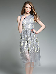 Maxlindy Women's Going out / Party/Holiday Vintage / Street chic /A Line Lace Dress