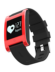 cheap -NUODO DM68 Men's Woman Smart Bracelet / SmartWatch / Bluetooth IP67 Heart Rate Sleep Monitor Pedometer Wristband  Clock Watch for Ios Android