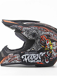 cheap -MEJIA Off-Road Motorcycle Racing Helmet Gloss Black Full Face Damping Durable Motorsport Helmet