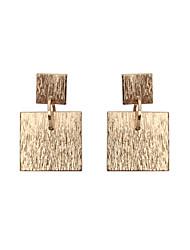 cheap -Women's Girls' Drop Earrings Jewelry Unique Design Tag Geometric Square Euramerican Statement Jewelry Classic Fashion Personalized