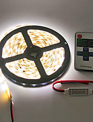 cheap -Z®ZDM Waterproof 5M 600X3528 Smd Led Strip Light and 11Key RF Controller
