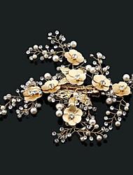 Pérola rhinestone liga headpiece-casamento ocasião especial headbands ao ar livre 1 peça