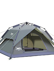 cheap -DesertFox® 3-4 persons Tent Double Camping Tent One Room Automatic Tent Waterproof Rain-Proof for Camping 2000-3000 mm Oxford -