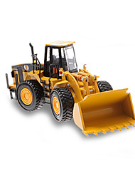 cheap -Toy Cars Model Car Construction Vehicle Dozer Excavator Toys Simulation Excavating Machinery Metal Alloy Metal Alloy Metal Pieces Kids