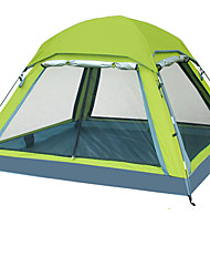 cheap -3-4 persons Tent Screen Tent Double Camping Tent One Room Fold Tent Waterproof Windproof Ultraviolet Resistant Foldable Breathability for