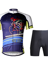 Paladin Sport Men  Cycling Jersey  Shorts Suit DT739