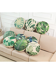 cheap -9 pcs Linen Pillow Cover, Solid Textured Tropical Beach Style Accent/Decorative