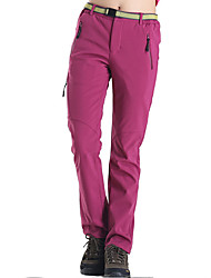 cheap -Women's Hiking Pants Outdoor Thermal / Warm Quick Dry Windproof Fleece Lining Wearable Breathable Sweat-wicking Winter Fleece Pants /