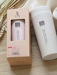 cheap -Double Layer Thermos Insulation Cup Made By Wheat Straw Vacuum cup