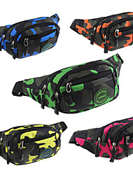 cheap -10L Waist Bag / Waistpack Camping / Hiking Climbing Leisure Sports Rain-Proof Dust Proof Breathable Multifunctional Blue Green Orange Red