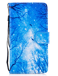 cheap -Case For Huawei Honor 7 Huawei P9 Lite Huawei Y560 Huawei Honor 5C Huawei Card Holder Wallet with Stand Flip Magnetic Pattern Full Body