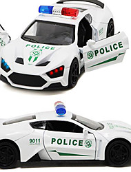 Die-Cast Vehicles Toy Cars Toys Construction Vehicle Police car Sounds Simulation Horse Metal Alloy Plastic Kids Gift Action & Toy Figures